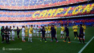 Barcelona recorre pasillo de Campeón