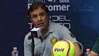Jorge Dávalos en conferencia de prensa previo a la Final del  Ascenso MX