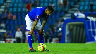 Walter Montoya se lamenta tras un partido