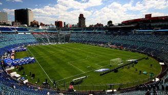 Estadio Azul visto desde las alturas