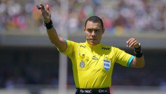 Marco Antonio Ortiz, en el juego entre Pumas y Toluca del C2018