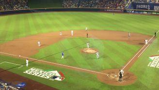 Vista del estadio durante el juego de la MLB en México
