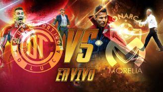 Toluca recibe a Morelia en la Vuelta de los Cuartos de Final