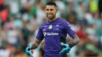 Jonathan Orozco, en el juego de Vuelta contra Tigres