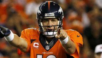Peyton Manning, durante un juego con Denver Broncos