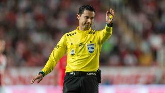 César Arturo Ramos, en el juego entre Necaxa y Toluca del C2018