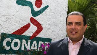Jorge Castro, presidente de la Federación Mexicana de Esgrima