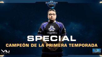 SpeCial, el mejor jugador de StarCraft II en Latinoamérica
