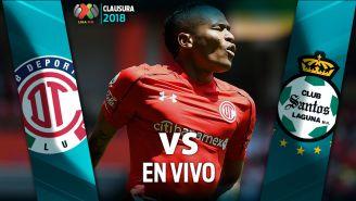 EN VIVO y EN DIRECTO: Toluca vs Santos