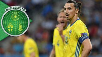 Zlatan Ibrahimovic, en un juego de Suecia