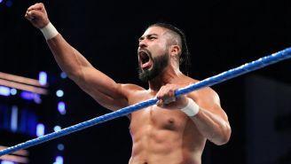 Andrade 'Cien' Almas durante su debut en SmackDown