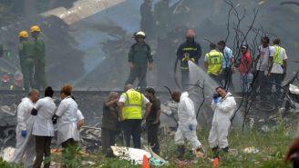 Accidente de avión en Cuba