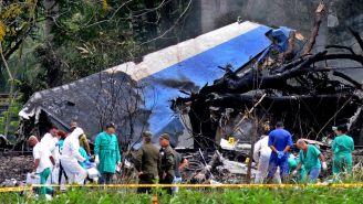 Autoridades estudian el accidente aéreo en Cuba