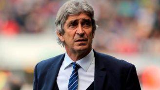 Manuel Pellegrini dirige a sus pupilos del Manchester City