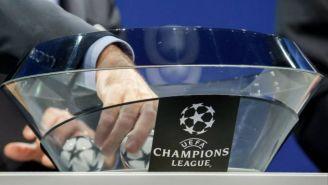 Bombo de un sorteo de la Champions League