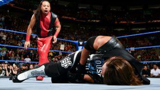 Shinsuke Nakamura ataca a AJ Styles