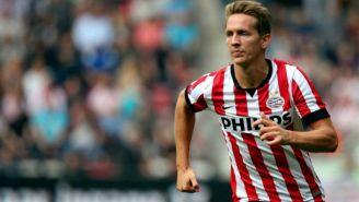 Luuk de Jong, durante un juego con PSV