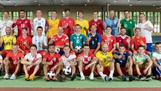 Rusia luce camisetas del resto de selecciones mundialistas