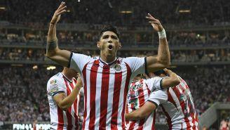 Pulido celebra en la Final de la Concachampions