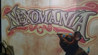 Así luce el logotipo de Nexomanía
