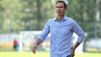 Paco Gabriel de Anda, en las instalaciones de Chivas