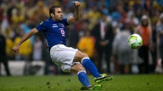 Alejandro Castro, en su paso por Cruz Azul