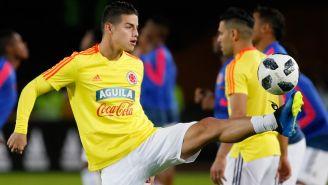 James, previo a un duelo amistoso con Colombia