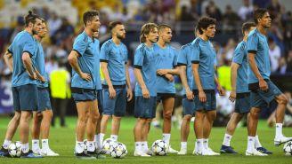 Real Madrid entrena previo a la Final