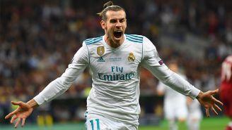 Gareth Bale celebra su gol en la Final de Champions League