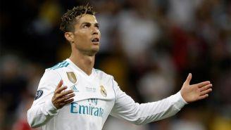Cristiano Ronaldo, durante la Final de la Champions League