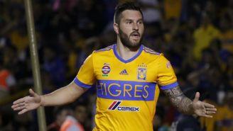 Gignac celebra anotación con Tigres en Liga MX