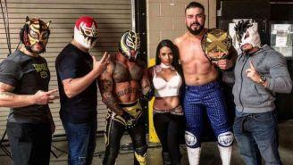 Rey Mysterio se reúne con Lince Dorado, Gran Metalik, Zelina, Andrade 'Cien' Almas y Kalisto