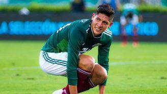 Edson Álvarez en el México vs Gales