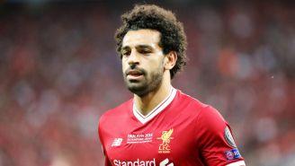 Salah en la Final de Champions League