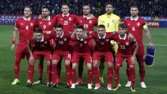 La selección de Serbia está en el Grupo E