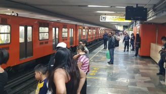 Anden del Metro de la Ciudad de México