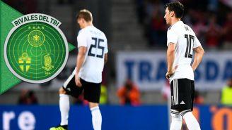 Alemania se lamenta tras perder contra Austria