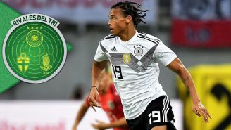 Sané disputa un duelo amistoso con Alemania