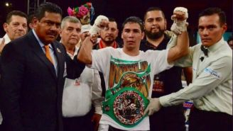 Gilberto 'Parrita' Medina tras ganar una pelea