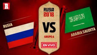 EN VIVO y EN DIRECTO: Rusia vs Arabia Saudita