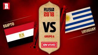 EN VIVO y EN DIRECTO: Egipto vs Uruguay