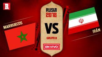 EN VIVO y EN DIRECTO: Marruecos vs Irán