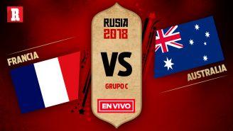 Francia y Australia se miden para abrir los partidos del Grupo C