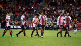 Chivas, durante un juego del Clausura 2018