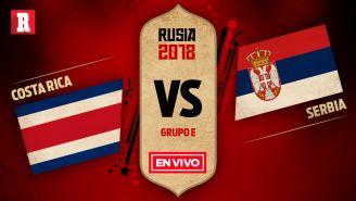 Los ticos se miden a Serbia en su primer encuentro en el Grupo E