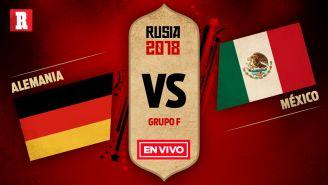 México debuta en Rusia 2018 frente a Alemania