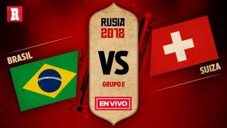 Brasil y Suiza se miden en su primer choque del Grupo E