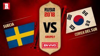 Suecia se mide a Corea en el Grupo F de Rusia 2018