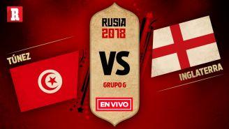 Túnez se mide a Inglaterra en el partido por el Grupo G