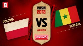 Polonia se mide a Senegal, en el último partido de la primera ronda del Mundial
